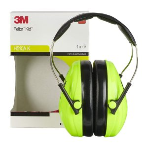 test casque anti bruit bébé 3m peltor kid